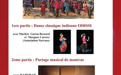 Soirée Danse Indienne Odissi et Partage Musical