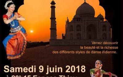 Spectacle de danse classique indienne Odissi, Bharatanatyam et Bollywood