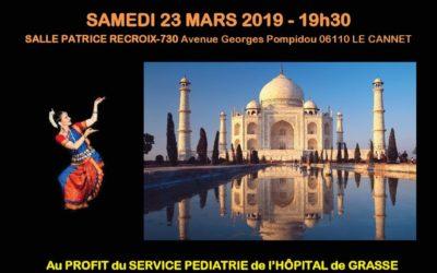 Spectacle et Repas Indien