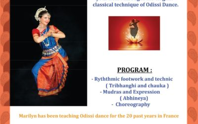 Stage de danse indienne Odissi