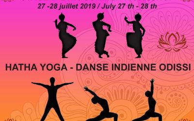 Stage d'été de Yoga et Danse Indienne ODISSI