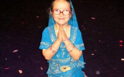 Atelier danse indienne pour enfants à Monaco le 25 février 2021