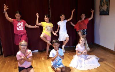 Atelier de danse indienne pour enfants le samedi 19 juin après-midi