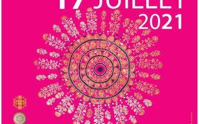 Festival de l'Inde ( Danse et musique ) à Tourettes sur Loup le 17 juillet 2021